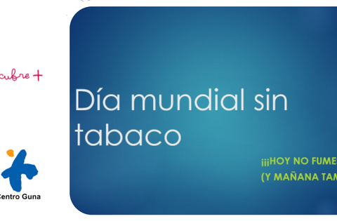 Dia mundial sin tabaco centro guna donostia
